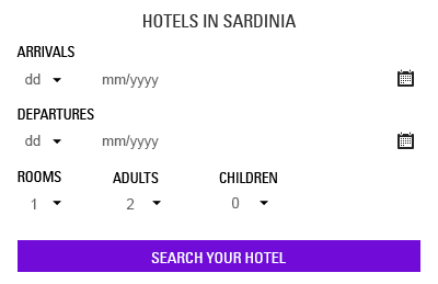 Search your hotel in Sardinia