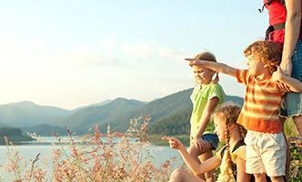 Ferienanlagen für Familien